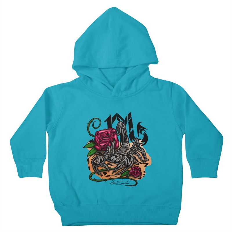 Scorpio - Zodiac Kids Toddler Pullover Hoody by adamzworld's Artist Shop