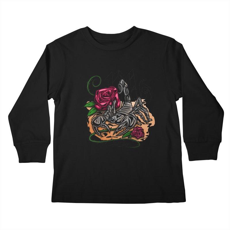 Scorpio - Zodiac Kids Longsleeve T-Shirt by adamzworld's Artist Shop