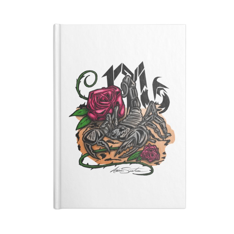 Scorpio - Zodiac Accessories Notebook by adamzworld's Artist Shop