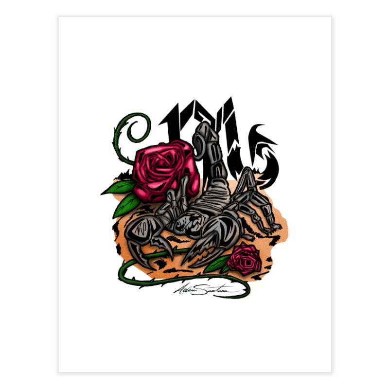Scorpio - Zodiac Home Fine Art Print by adamzworld's Artist Shop