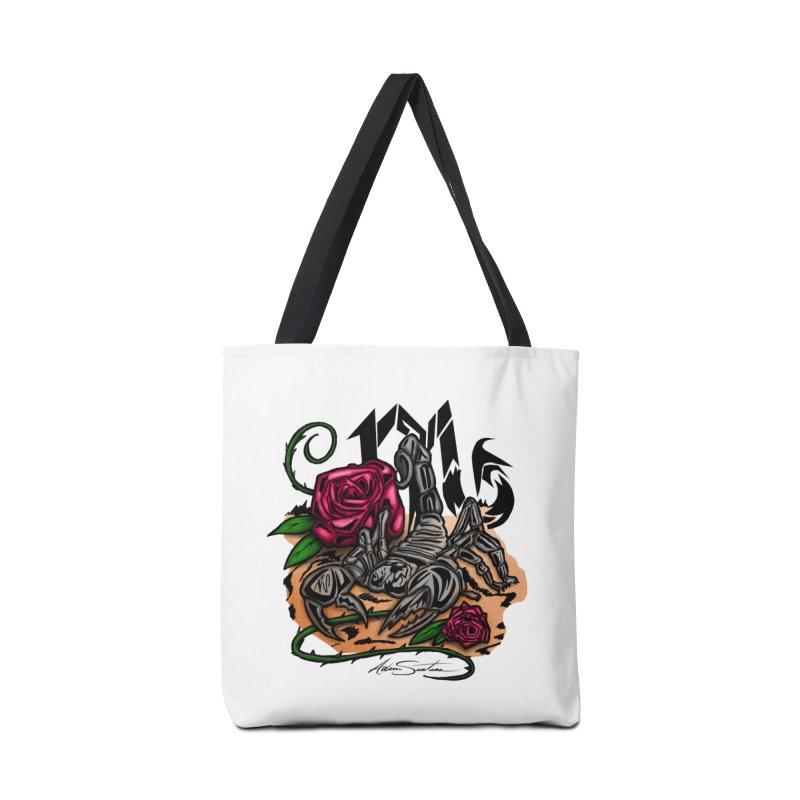 Scorpio - Zodiac Accessories Bag by adamzworld's Artist Shop