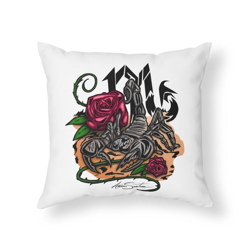 Scorpio - Zodiac Home Throw Pillow by adamzworld's Artist Shop