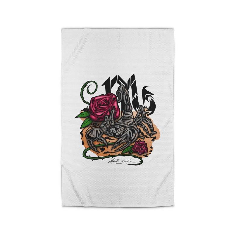 Scorpio - Zodiac Home Rug by adamzworld's Artist Shop