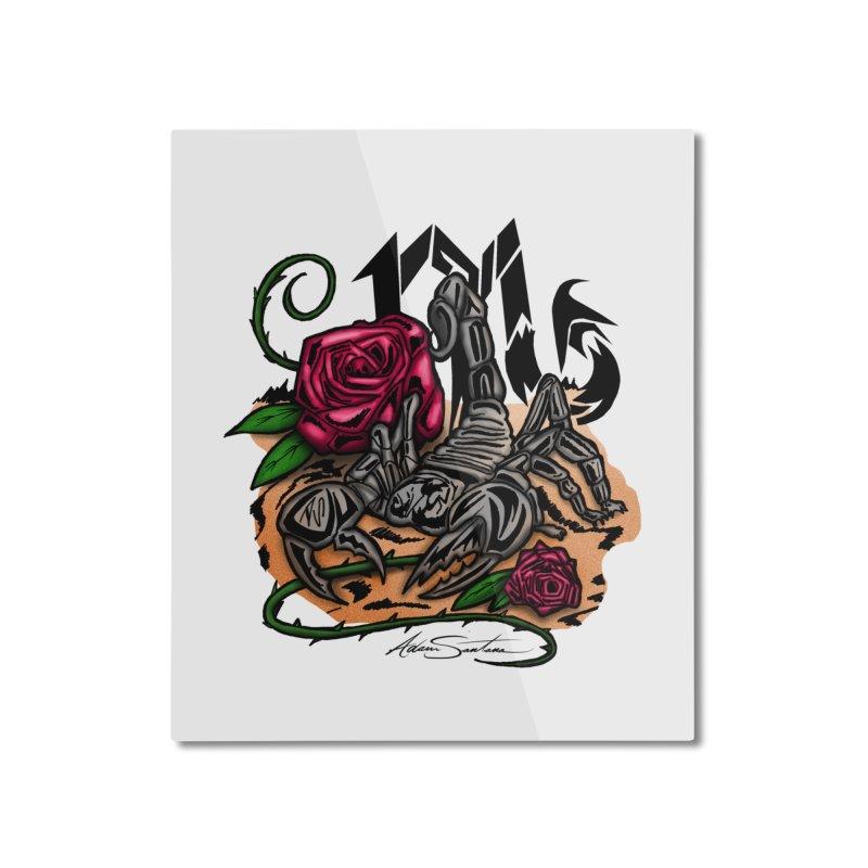 Scorpio - Zodiac Home Mounted Aluminum Print by adamzworld's Artist Shop