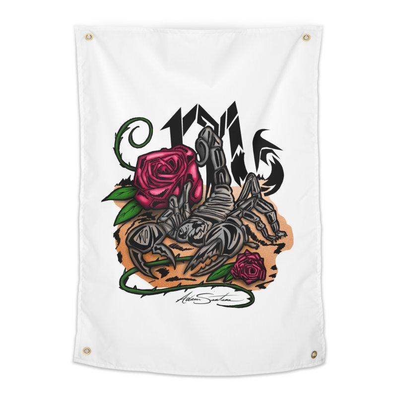 Scorpio - Zodiac Home Tapestry by adamzworld's Artist Shop