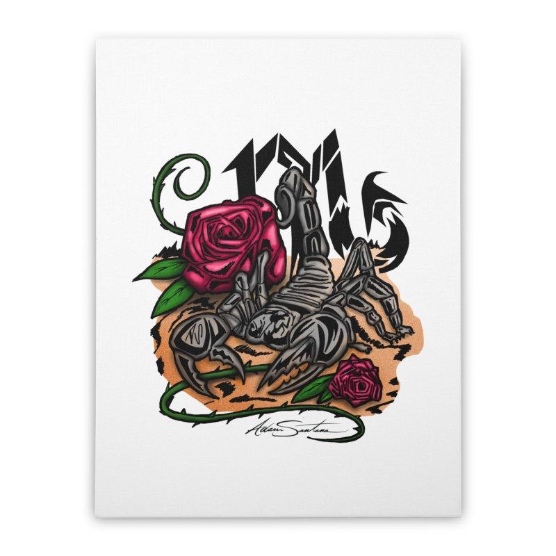Scorpio - Zodiac Home Stretched Canvas by adamzworld's Artist Shop