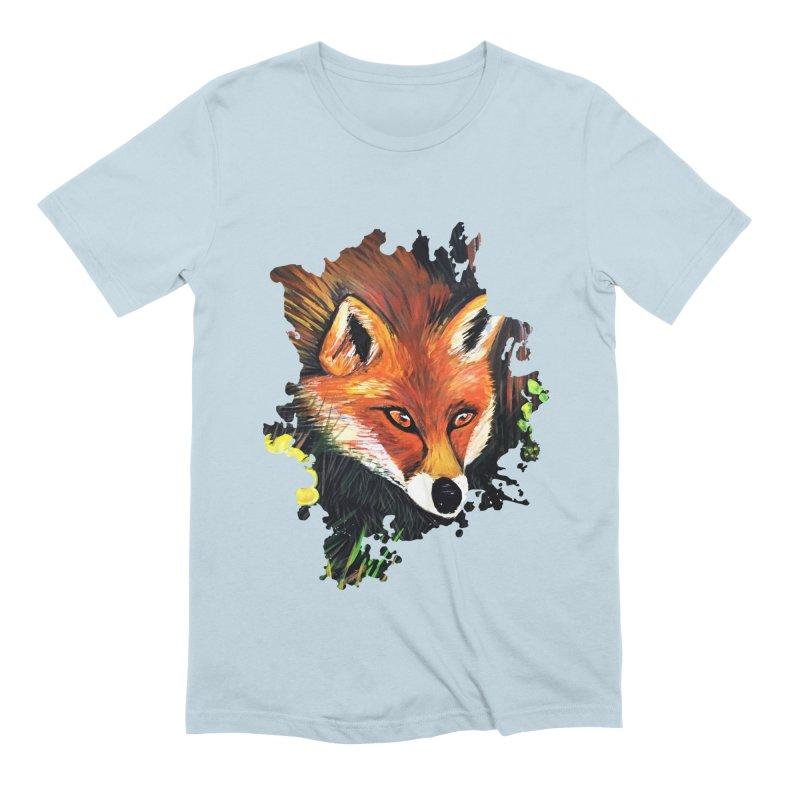 Fox In Nature Men's Extra Soft T-Shirt by adamzworld's Artist Shop