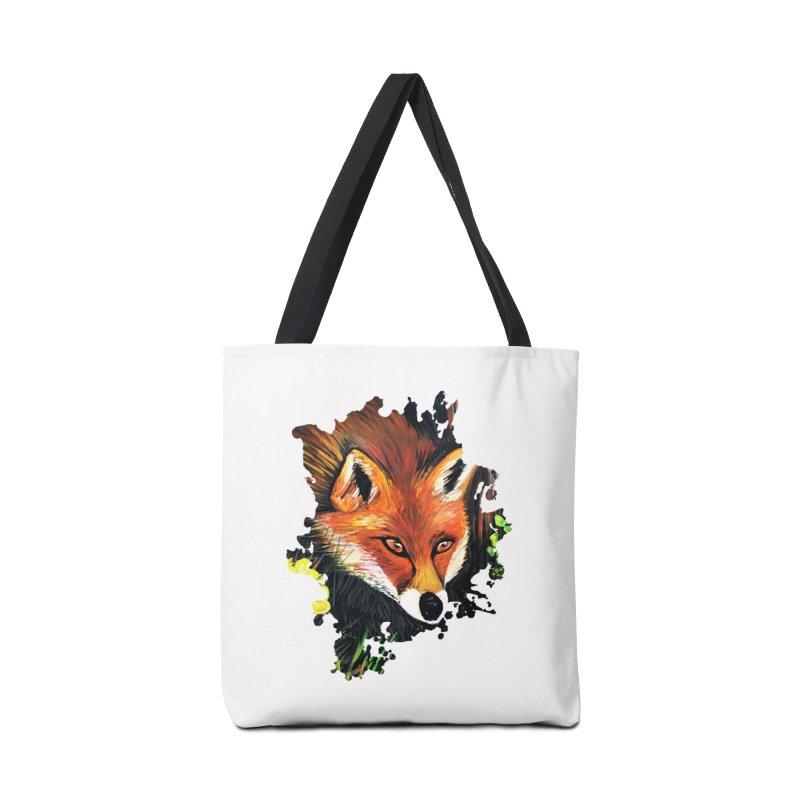 Fox In Nature Accessories Bag by adamzworld's Artist Shop