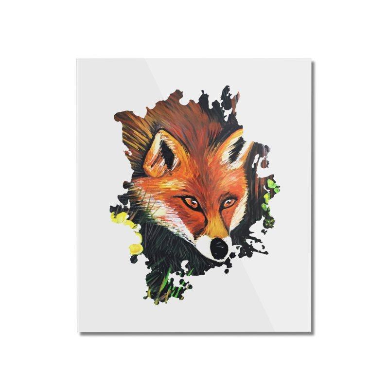 Fox In Nature Home Mounted Acrylic Print by adamzworld's Artist Shop