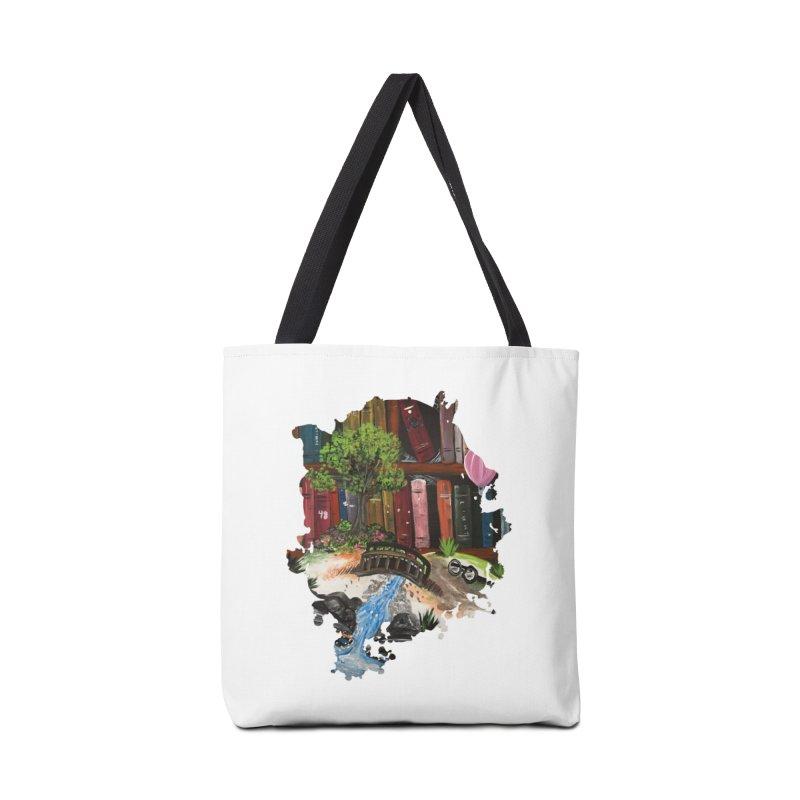 Book Experience Accessories Bag by adamzworld's Artist Shop