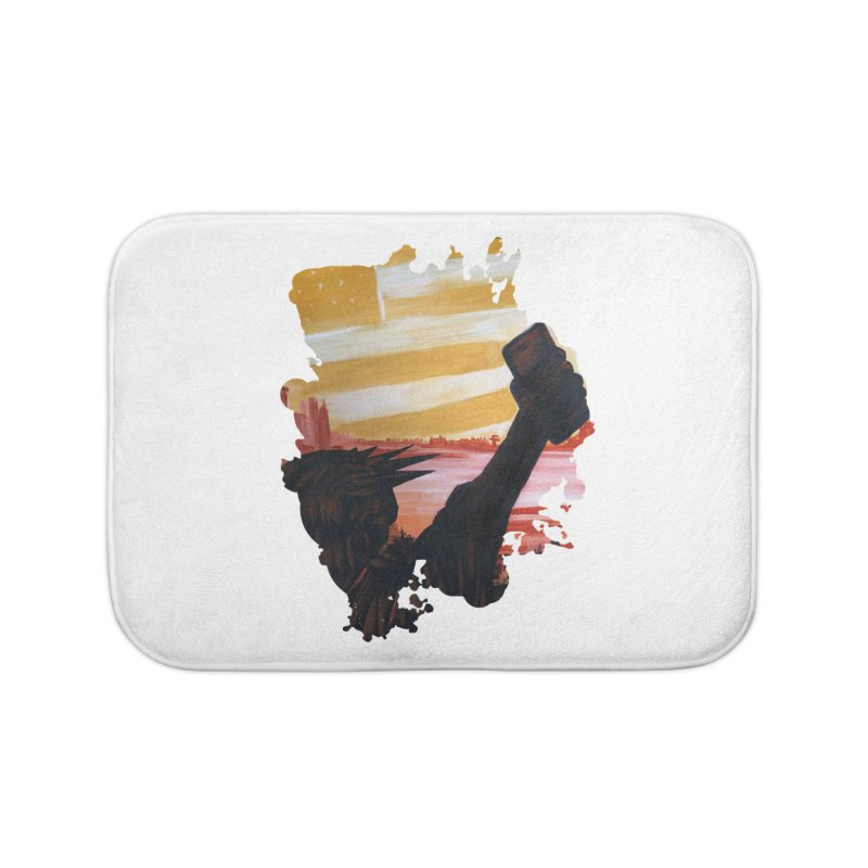 Cell Power Home Bath Mat by adamzworld's Artist Shop