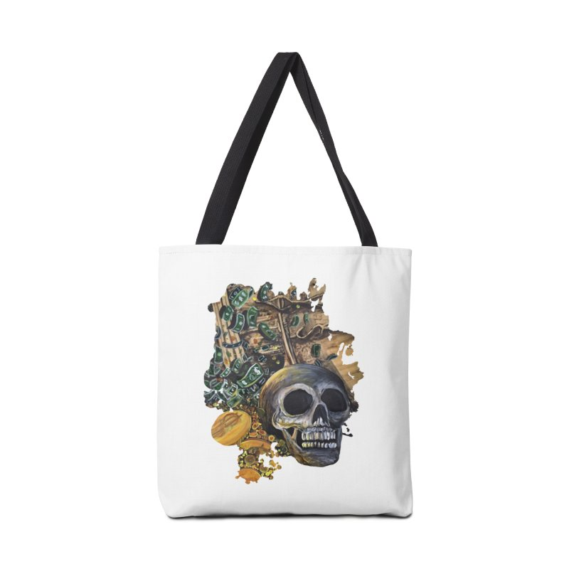 Time Is Money Accessories Bag by adamzworld's Artist Shop