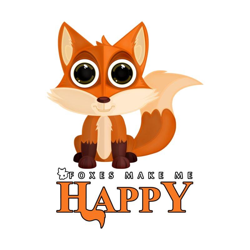 Foxes Make Me Happy by adamzworld's Artist Shop
