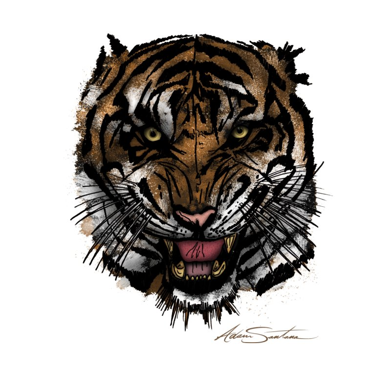 Tiger Face by adamzworld's Artist Shop