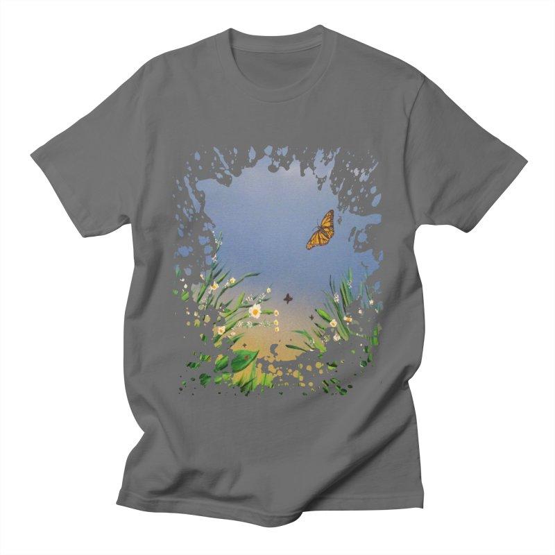Butterfly Peace Men's T-Shirt by adamzworld's Artist Shop