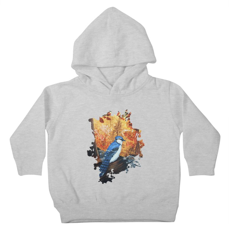Blue Jay Life Kids Toddler Pullover Hoody by adamzworld's Artist Shop