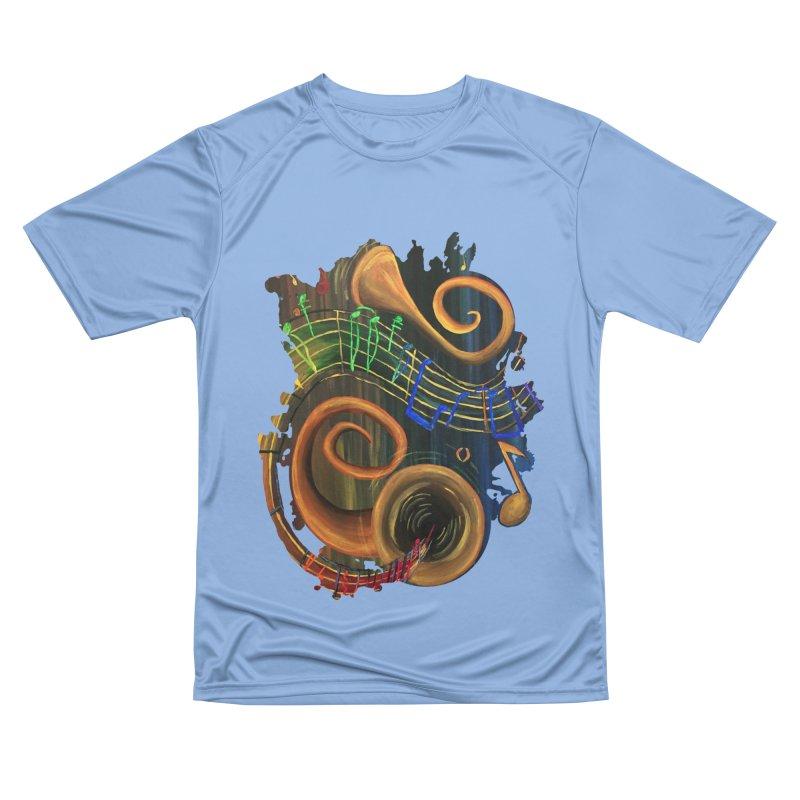 The ART of Music Women's T-Shirt by adamzworld's Artist Shop