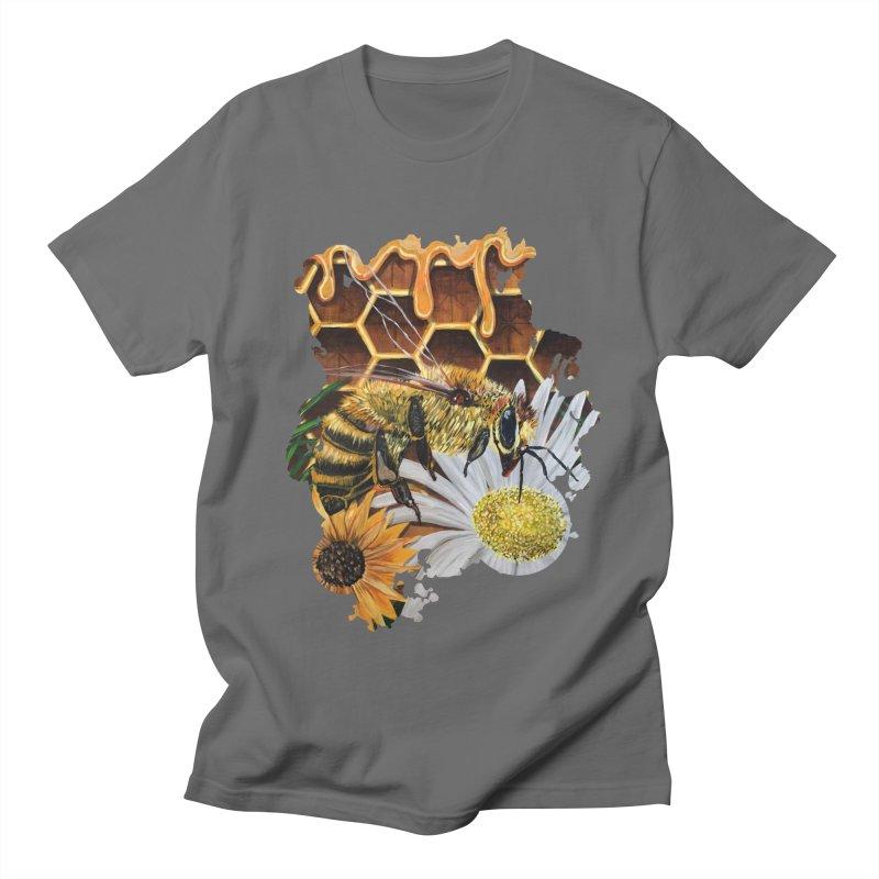 Busy Bee Men's T-Shirt by adamzworld's Artist Shop