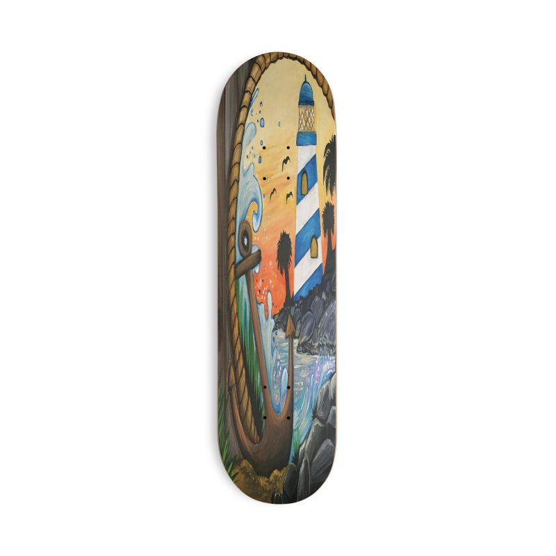 Light House View Accessories Skateboard by adamzworld's Artist Shop