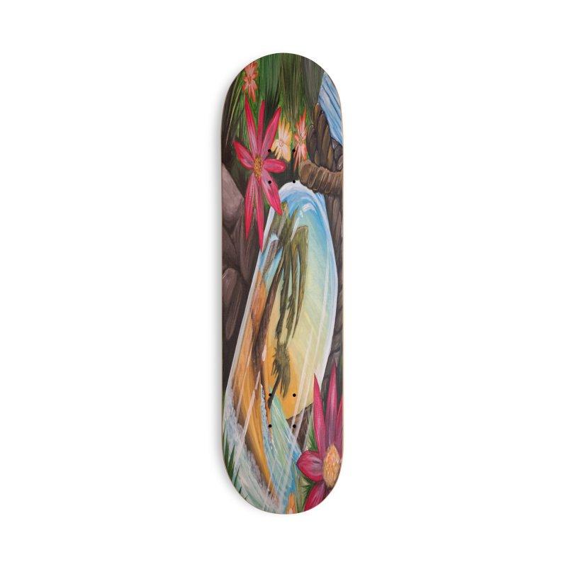 Hidden Treasure Accessories Skateboard by adamzworld's Artist Shop