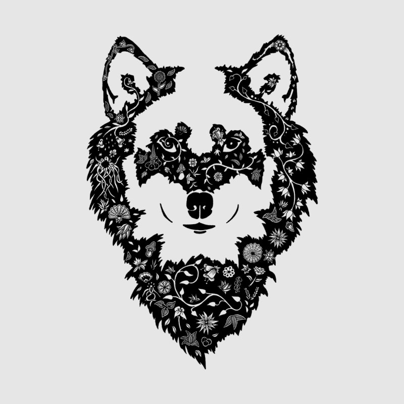 Wolf Women's T-Shirt by Ad Eggermont's Artist Shop