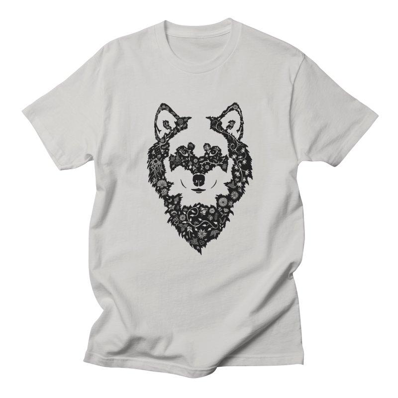 Wolf Men's T-Shirt by Ad Eggermont's Artist Shop