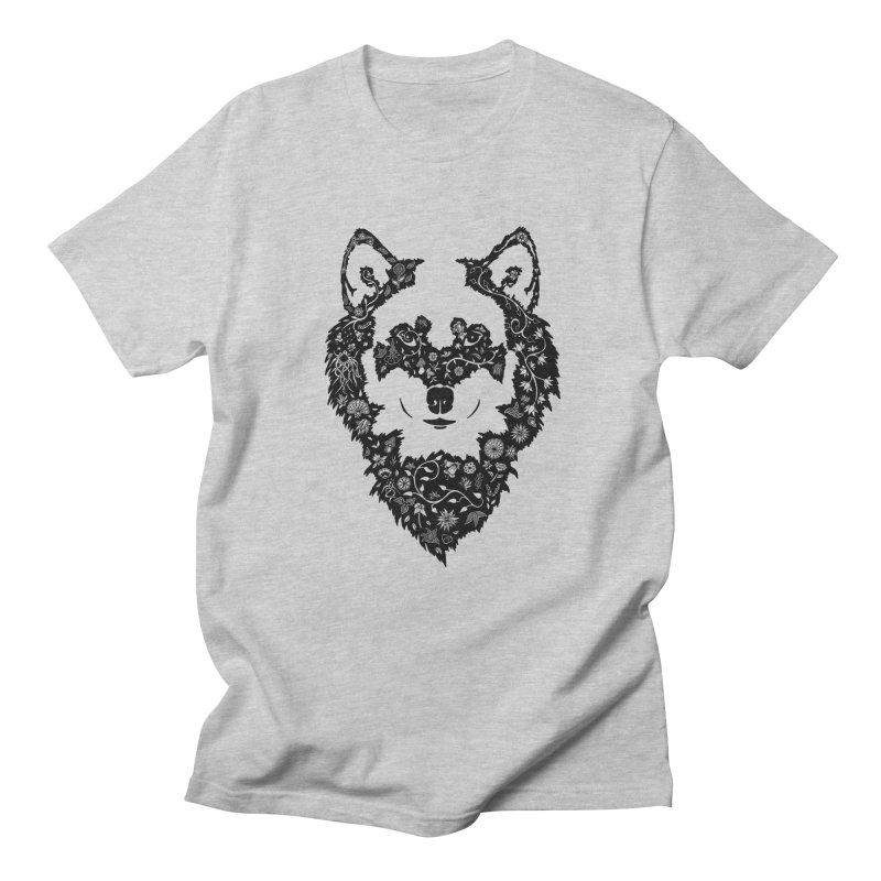 Wolf Men's Regular T-Shirt by Ad Eggermont's Artist Shop
