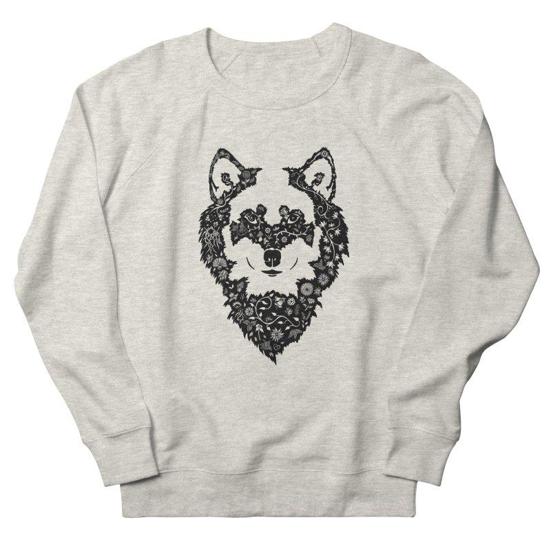 Wolf Women's Sweatshirt by Ad Eggermont's Artist Shop
