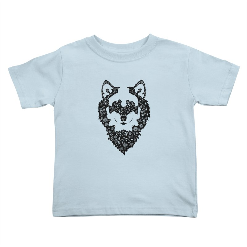 Wolf Kids Toddler T-Shirt by Ad Eggermont's Artist Shop