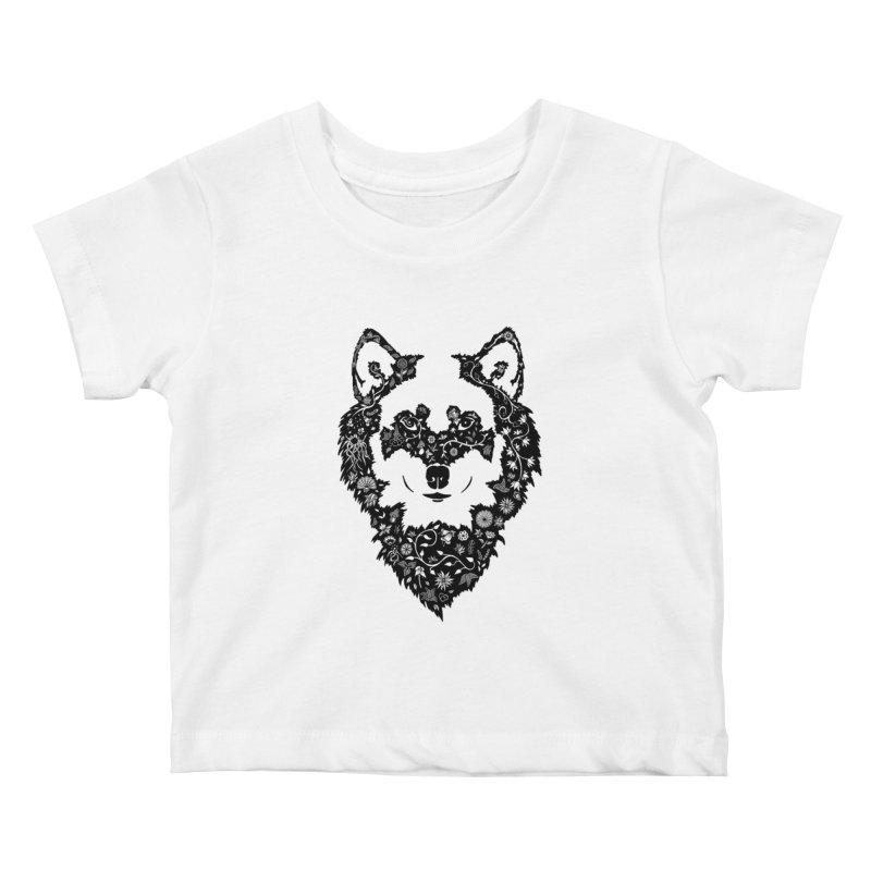 Wolf Kids Baby T-Shirt by Ad Eggermont's Artist Shop
