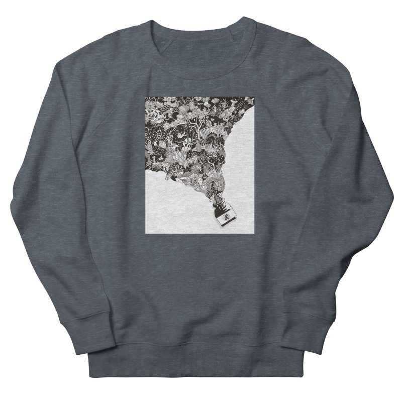 Oops Women's French Terry Sweatshirt by Ad Eggermont's Artist Shop