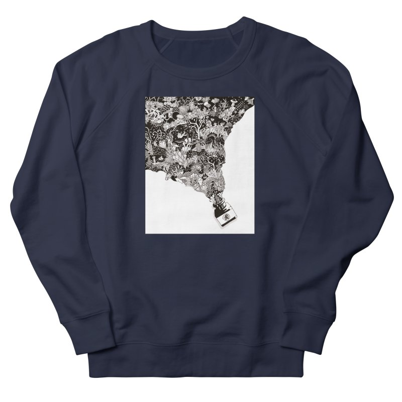 Oops Men's French Terry Sweatshirt by Ad Eggermont's Artist Shop