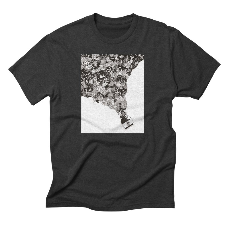 Oops Men's Triblend T-Shirt by Ad Eggermont's Artist Shop