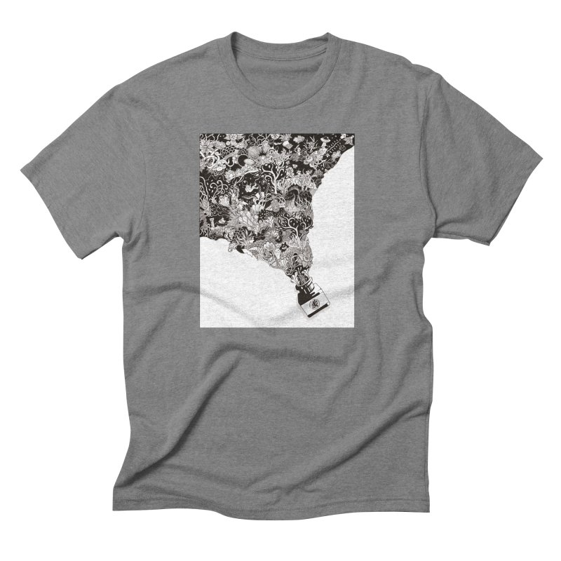 Oops Men's Triblend T-shirt by Ad Eggermont's Artist Shop