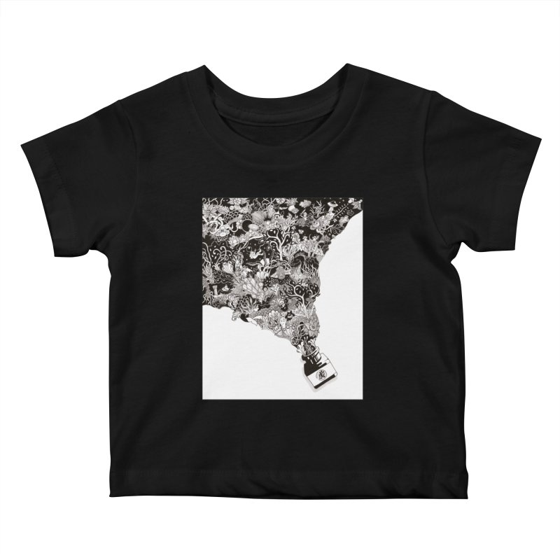 Oops Kids Baby T-Shirt by Ad Eggermont's Artist Shop