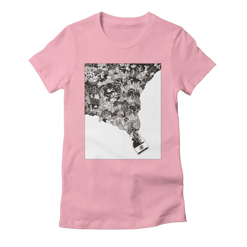 Oops Women's Fitted T-Shirt by Ad Eggermont's Artist Shop