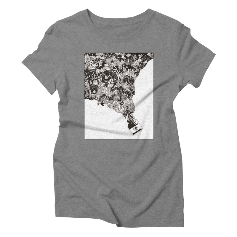 Oops Women's Triblend T-shirt by Ad Eggermont's Artist Shop