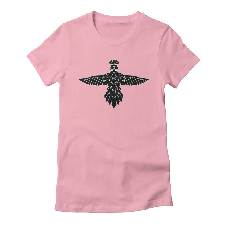 Bird Women's Fitted T-Shirt by Ad Eggermont's Artist Shop