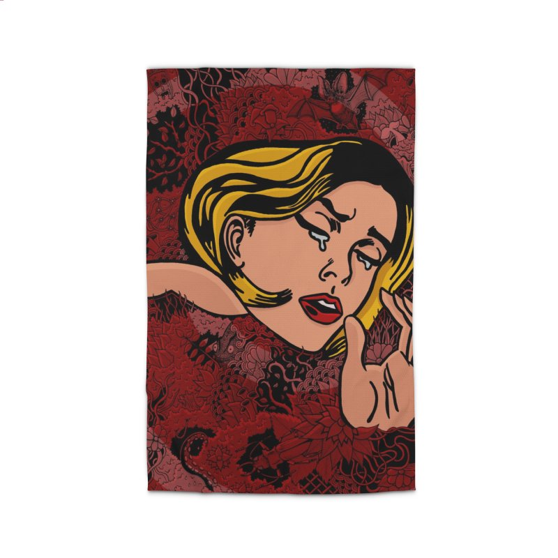 Sleepless Nights Home Rug by Ad Eggermont's Artist Shop