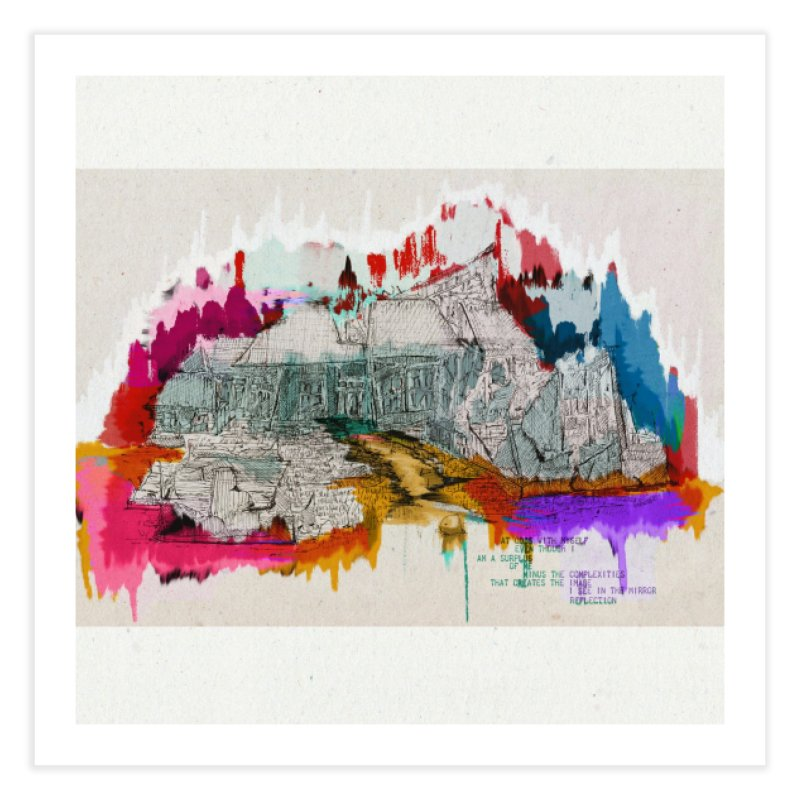 Left Behind Home Fine Art Print by adelaidoolea's Artist Shop