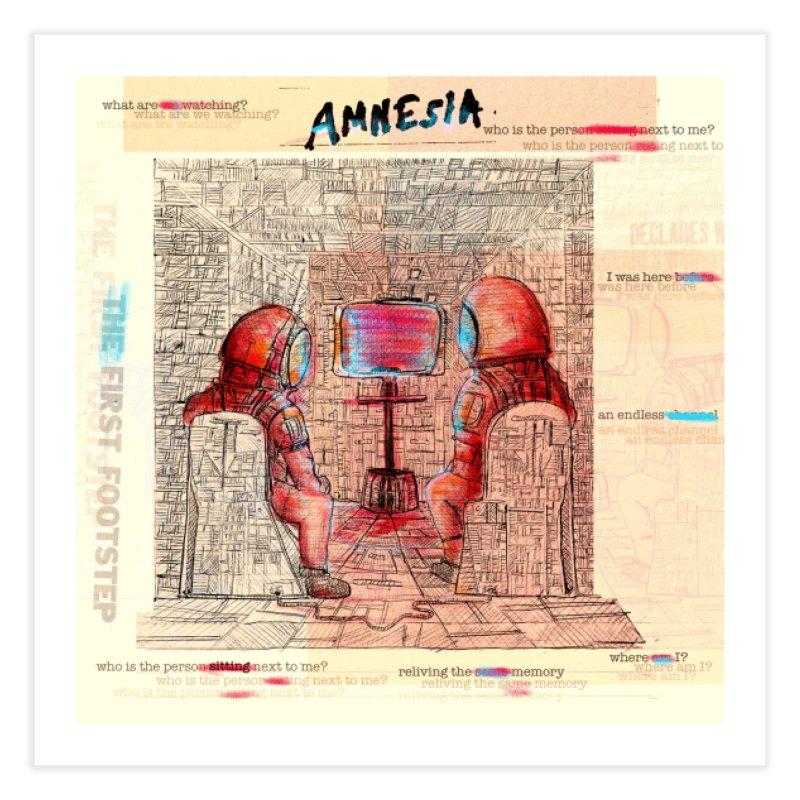 Amnesia Home Fine Art Print by adelaidoolea's Artist Shop