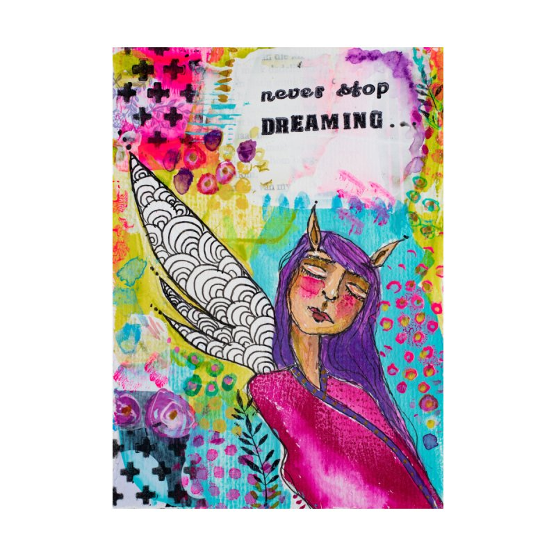 Never stop dreaming Home Fine Art Print by adelien de wet's Artist Shop
