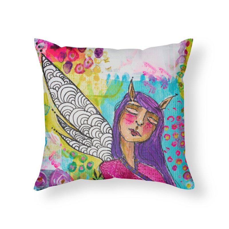 Never stop dreaming Home Throw Pillow by adelien de wet's Artist Shop