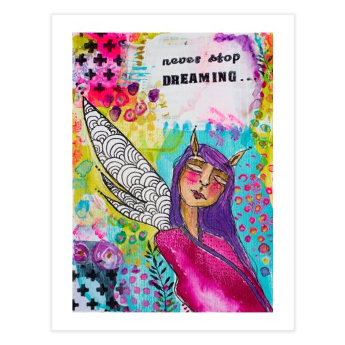 image for Never stop dreaming