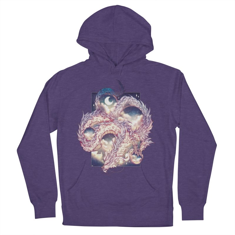 Falcor the Luck Dragon Men's French Terry Pullover Hoody by AdeptGamer's Merchandise