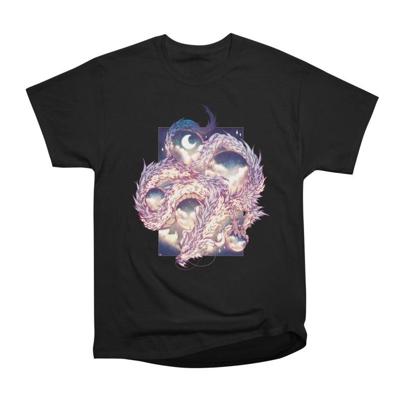 Falcor the Luck Dragon Women's Heavyweight Unisex T-Shirt by AdeptGamer's Merchandise