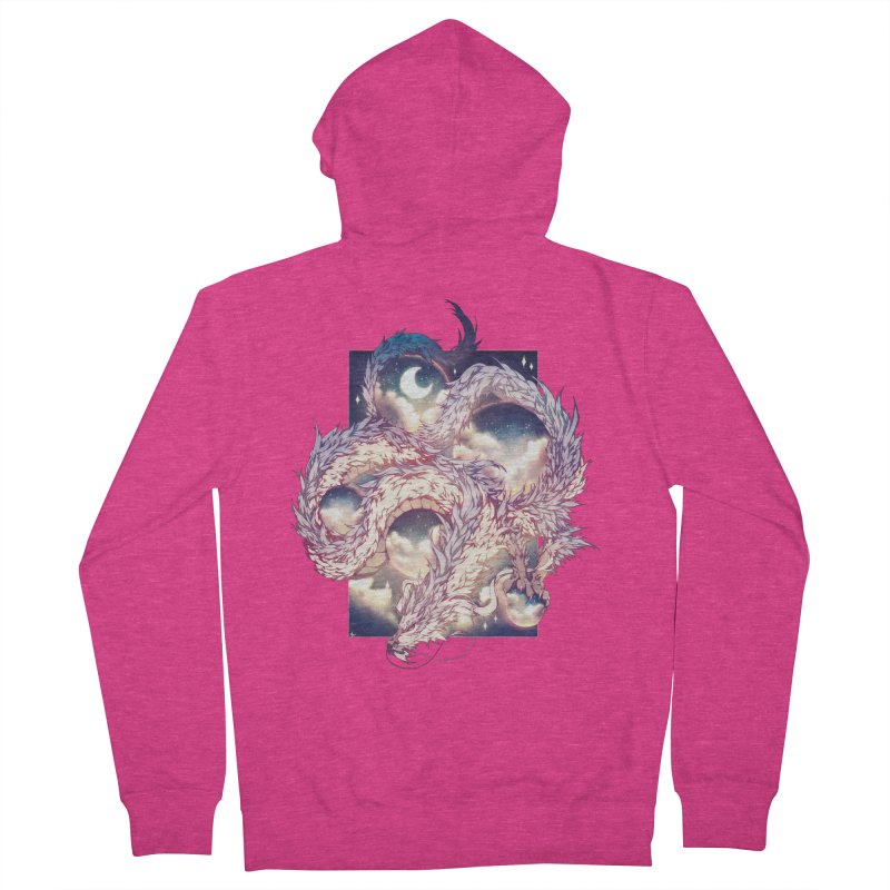 Falcor the Luck Dragon Women's French Terry Zip-Up Hoody by AdeptGamer's Merchandise