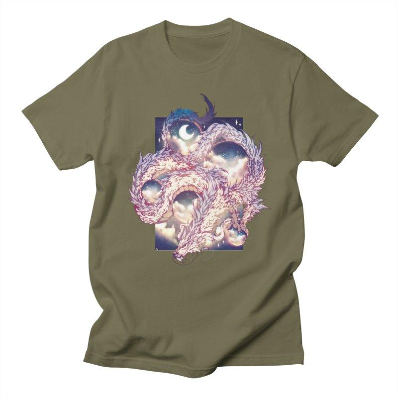 Falcor the Luck Dragon Men's Regular T-Shirt by AdeptGamer's Merchandise