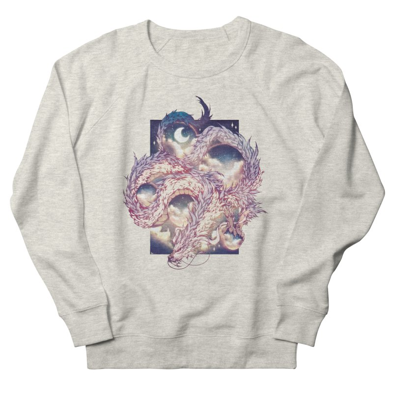 Falcor the Luck Dragon Men's French Terry Sweatshirt by AdeptGamer's Merchandise