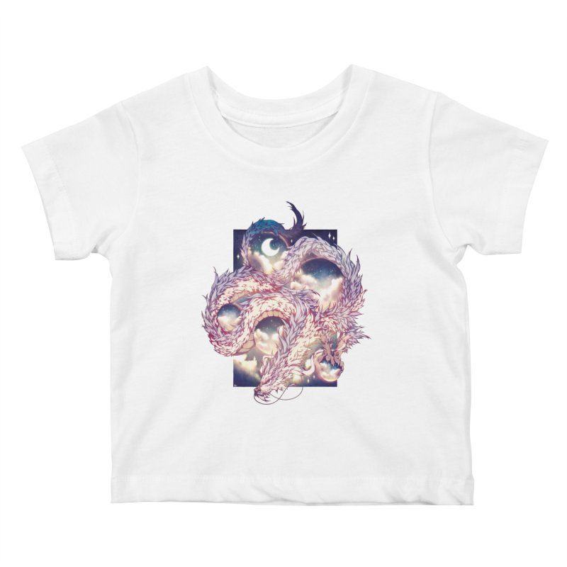Falcor the Luck Dragon Kids Baby T-Shirt by AdeptGamer's Merchandise